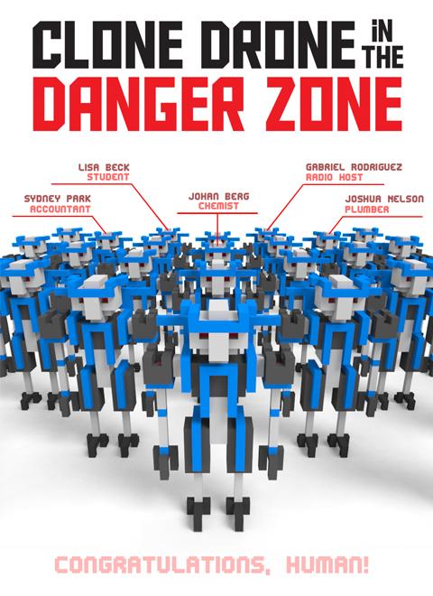 Скачать игру clone drone in the danger zone через торрент на пк