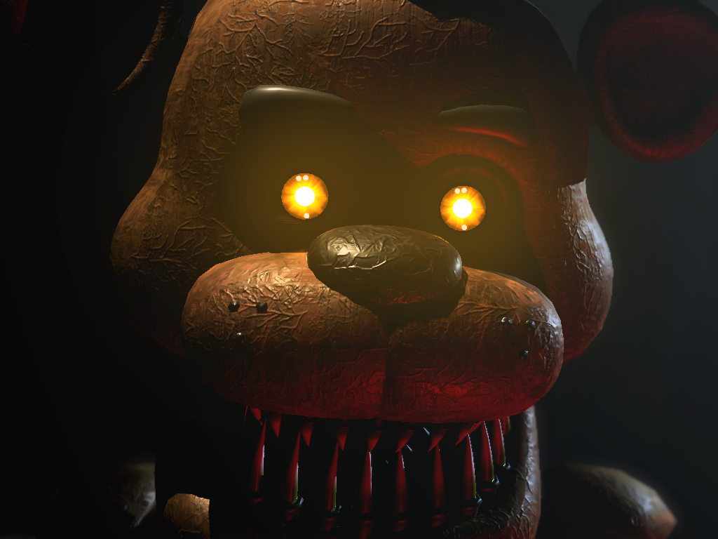 Sinister Freddy Rare Screen Image Paranormal Nights