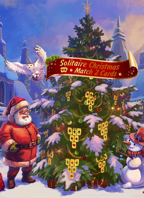 solitaire christmas match 2 cards windows mac ios android game indie db - Solitaire Christmas