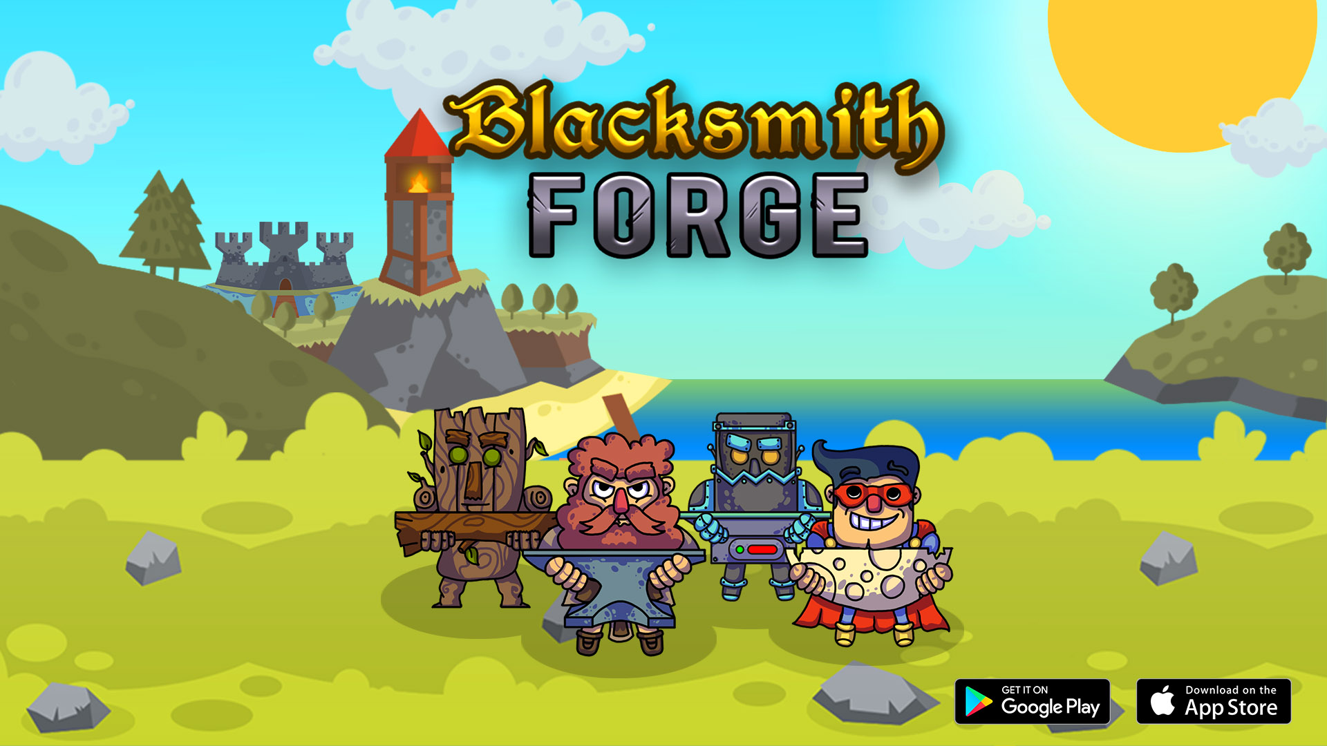 blacksmith forge catch and craft weapons