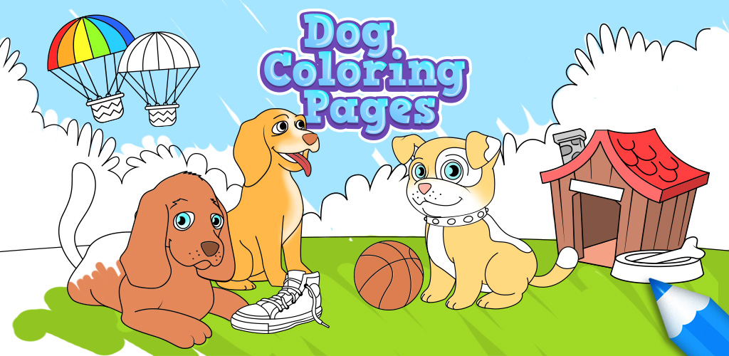 Dog Coloring Pages - Coloring Games for Kids iOS - Indie DB