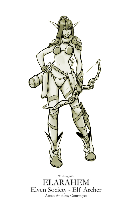 Elven Society - Elf Archer (Offensive Class) image