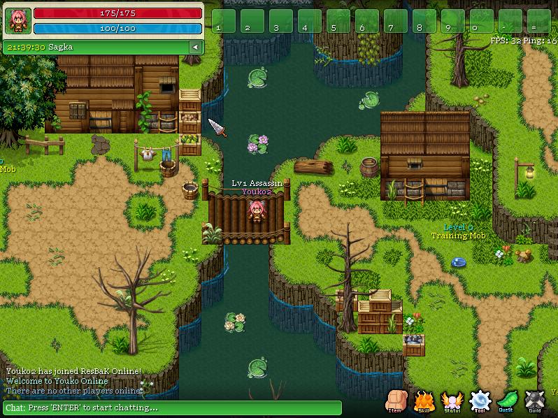 Youko Online 2d Mmorpg Windows Game Indie Db