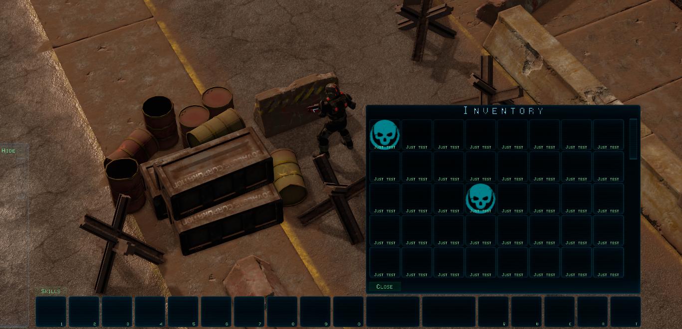 invenotry ui image - Sands of Space RPG - Indie DB