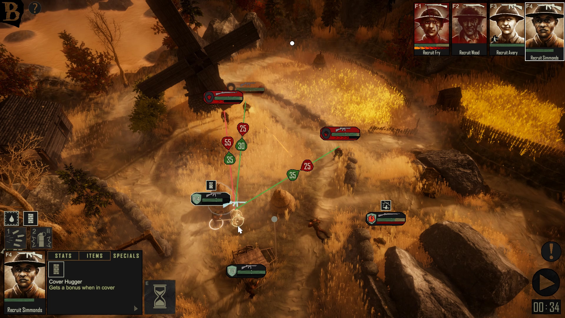 6 0 Firefight planning 1 image - Broken Lines - Indie DB