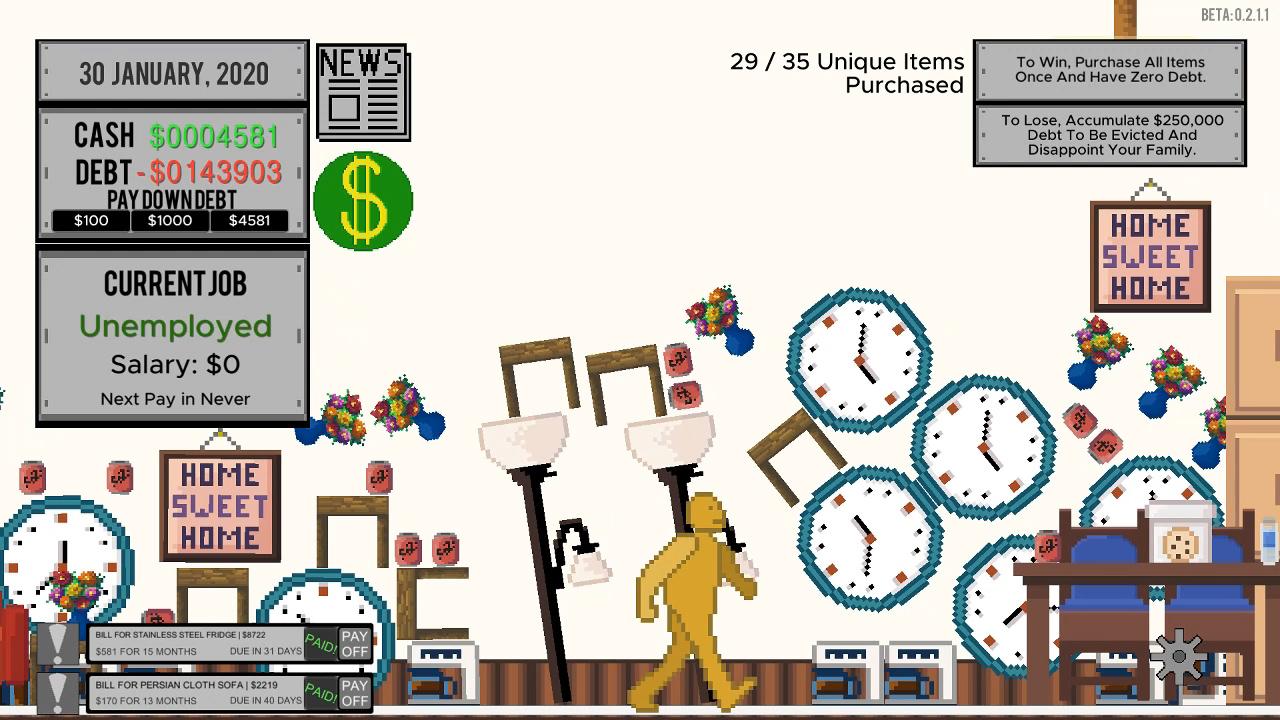 Image 1 - Life and Debt: A Real Life Simulator - Indie DB