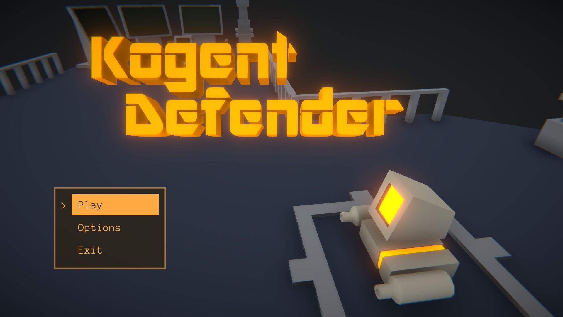 Kogent Defender Game