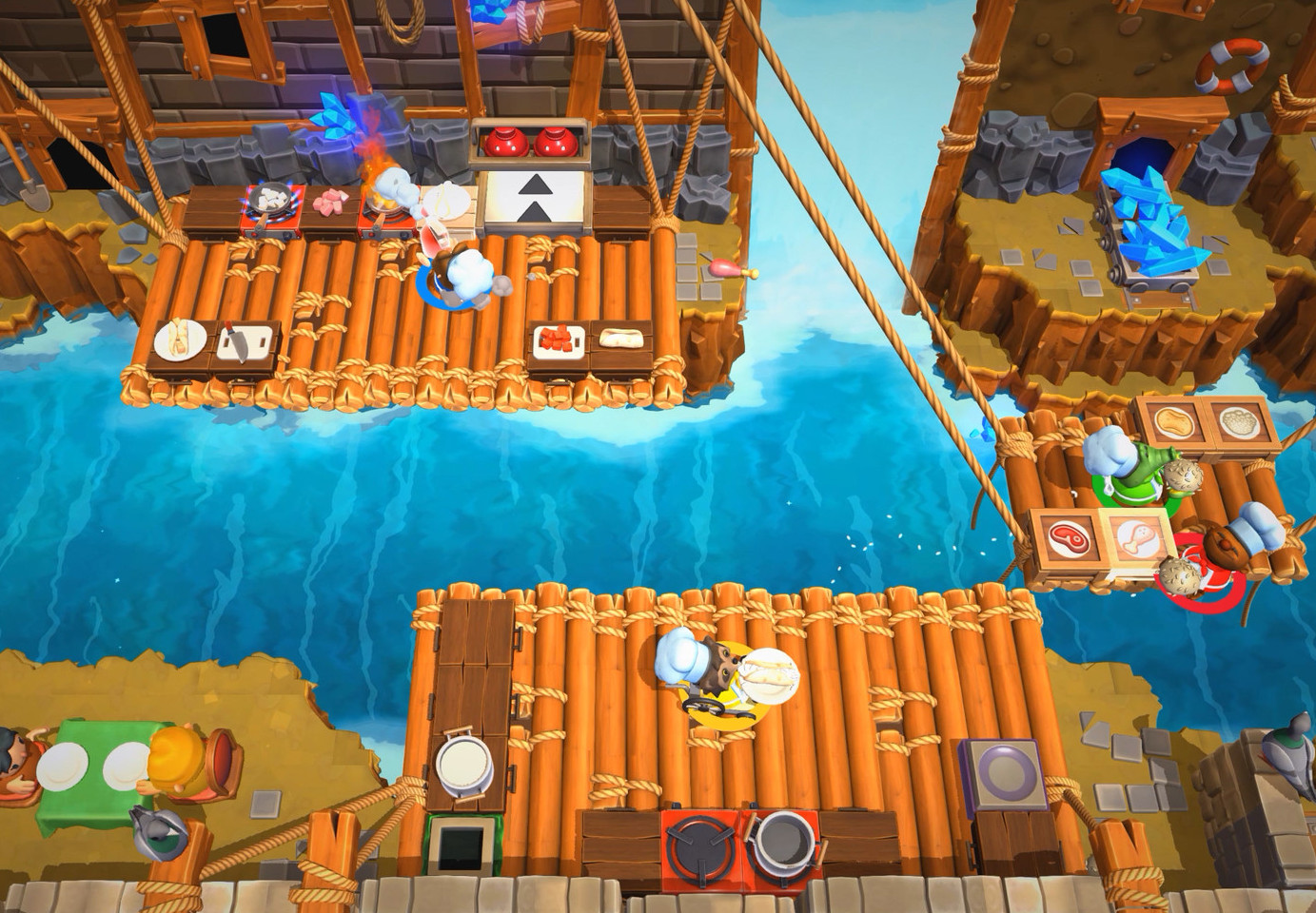 Overcooked 2 Windows Mac Linux Xone Ps4 Switch Game