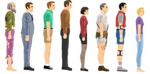Happy Wheels Characters 3 Image Indie Db