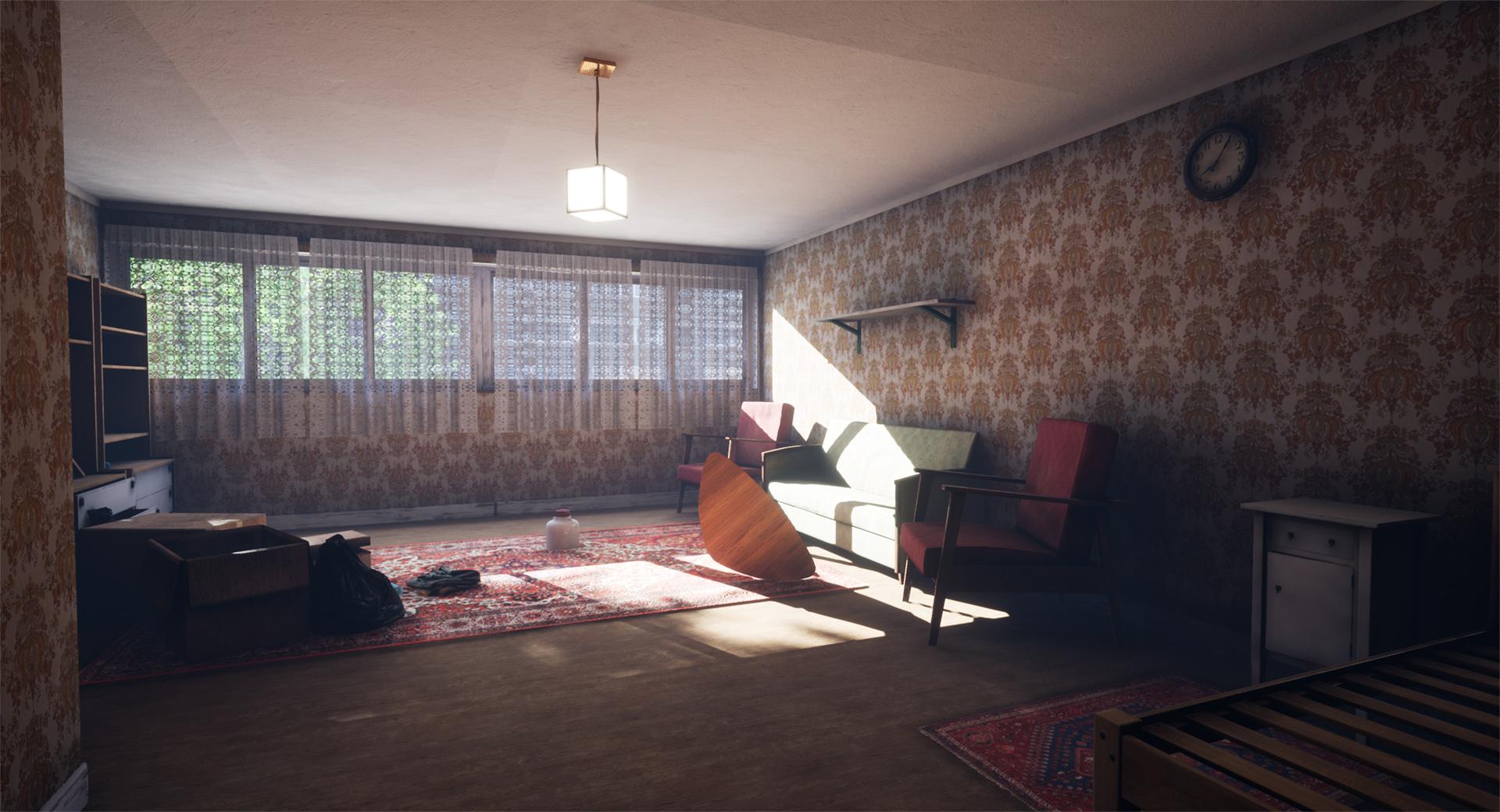 Apartment 1 - living room interior