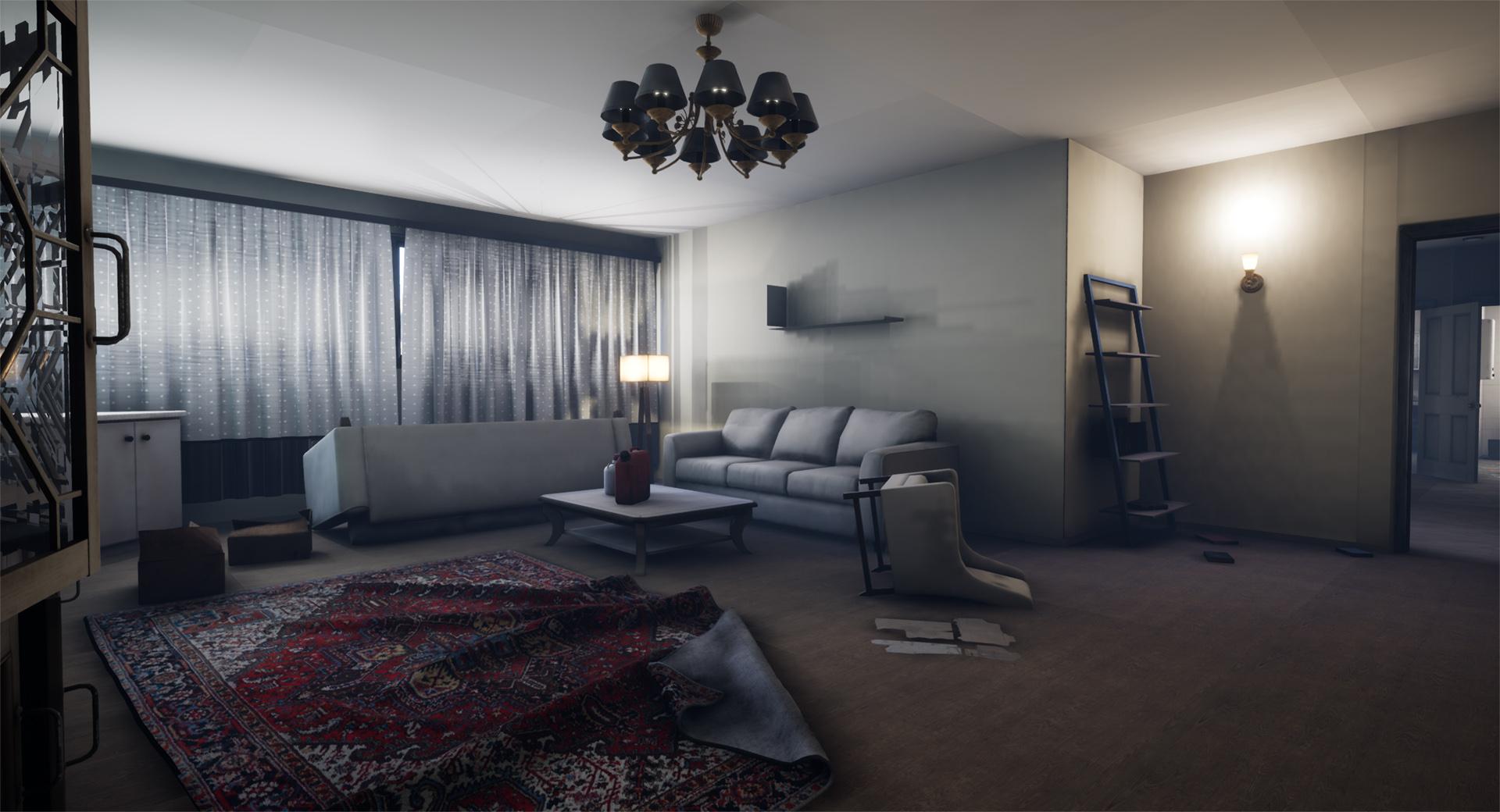 Apartment 2 - living room interior