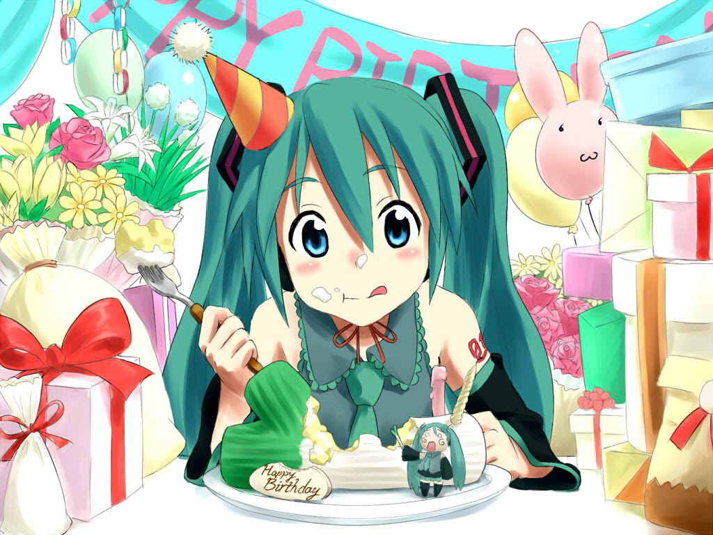 Happy Birthday Hatsune Miku Image Anime Fans Of Moddb Indie Db