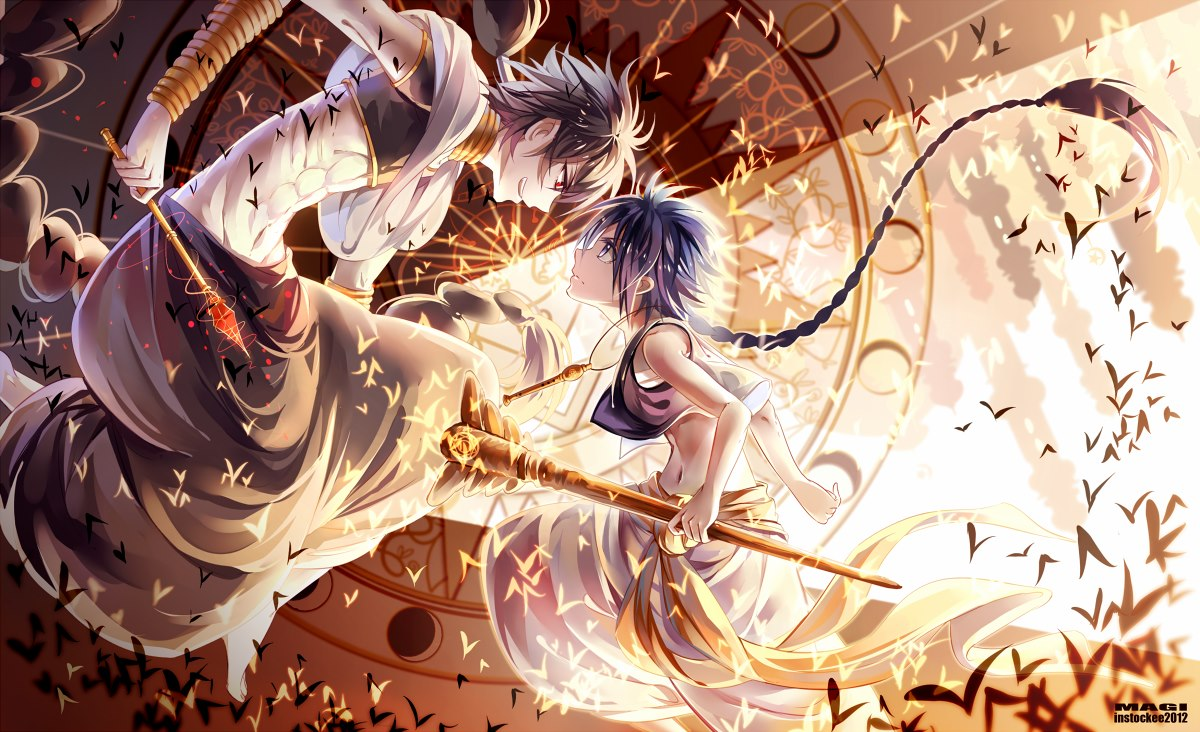 Magi The Labyrinth of Magic image  Anime Fans of modDB  Indie DB