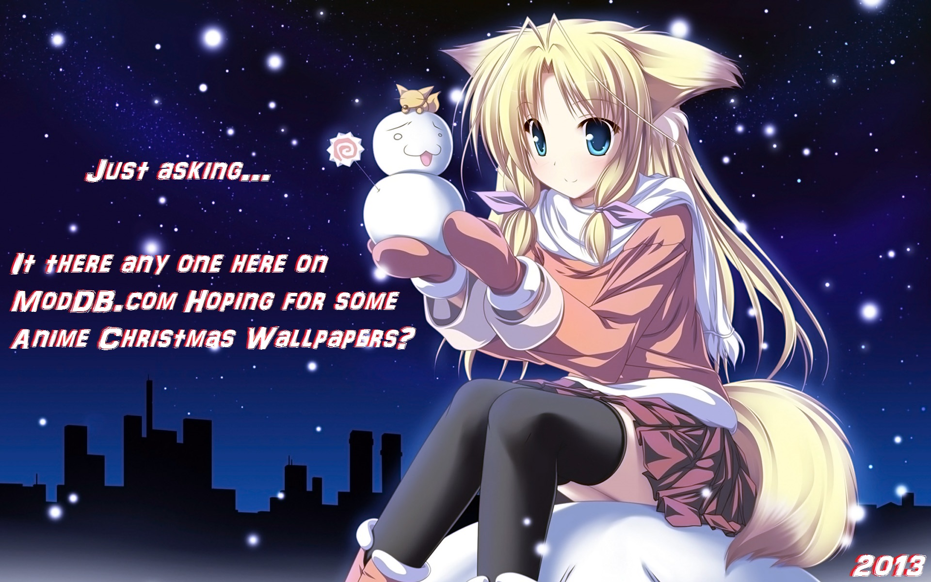 Anime Christmas Wallpaper.Anime Christmas Wallpapers Just Asking Image Indie Db