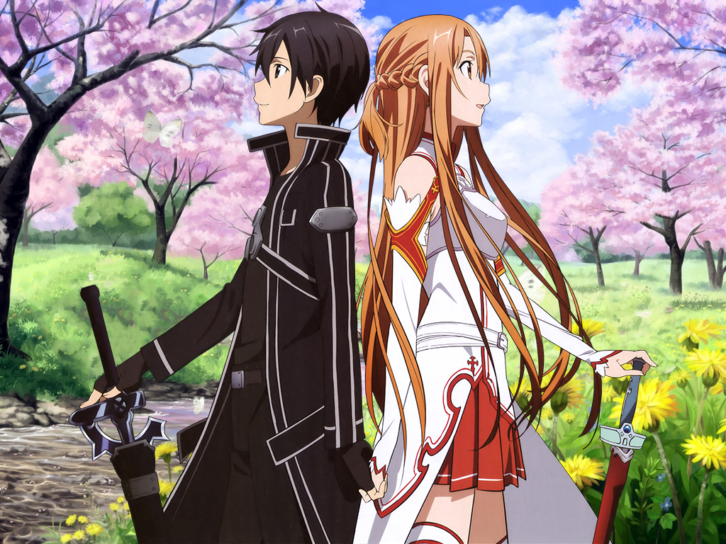 kazuto and asuna meet