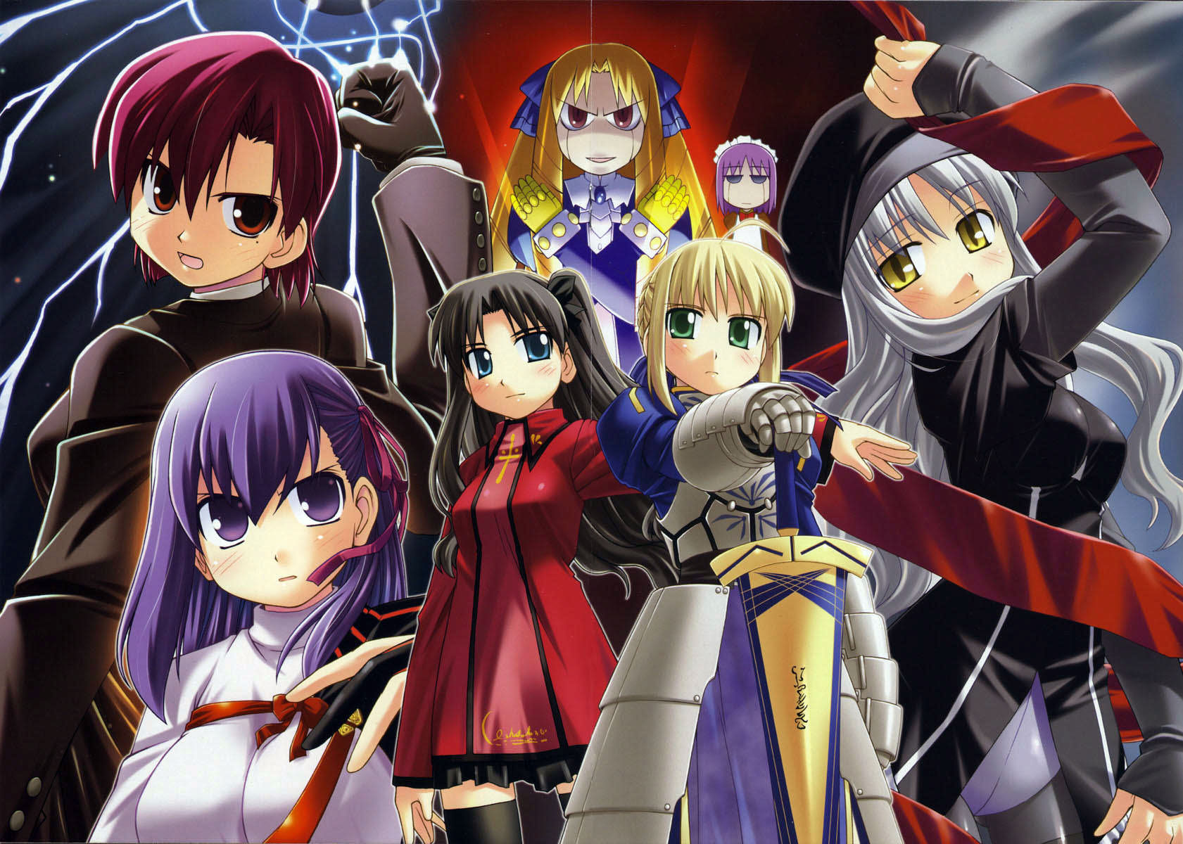 Fate/hollow ataraxia image - Anime Fans of modDB - Indie DB