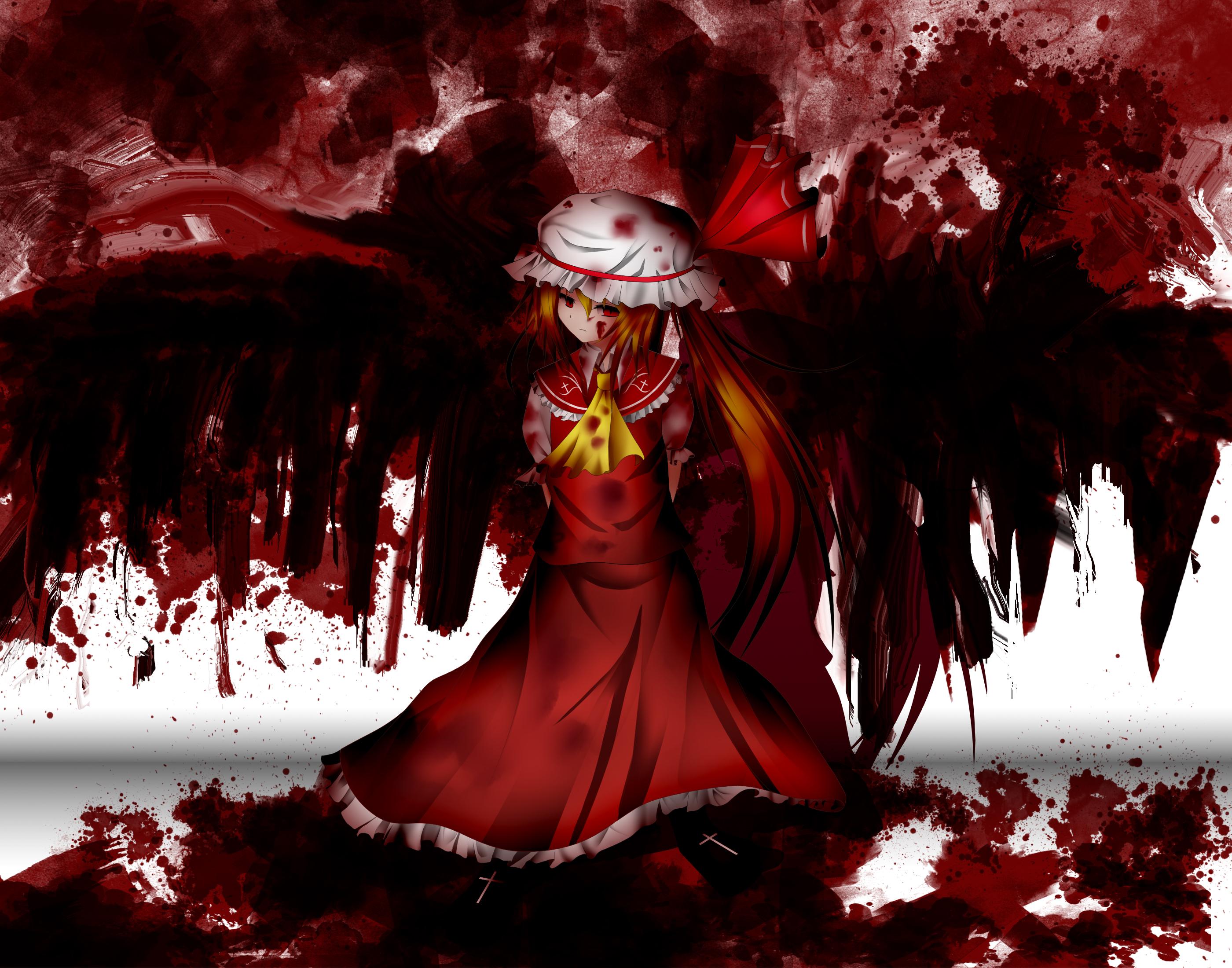 Аниме кровавые картинки