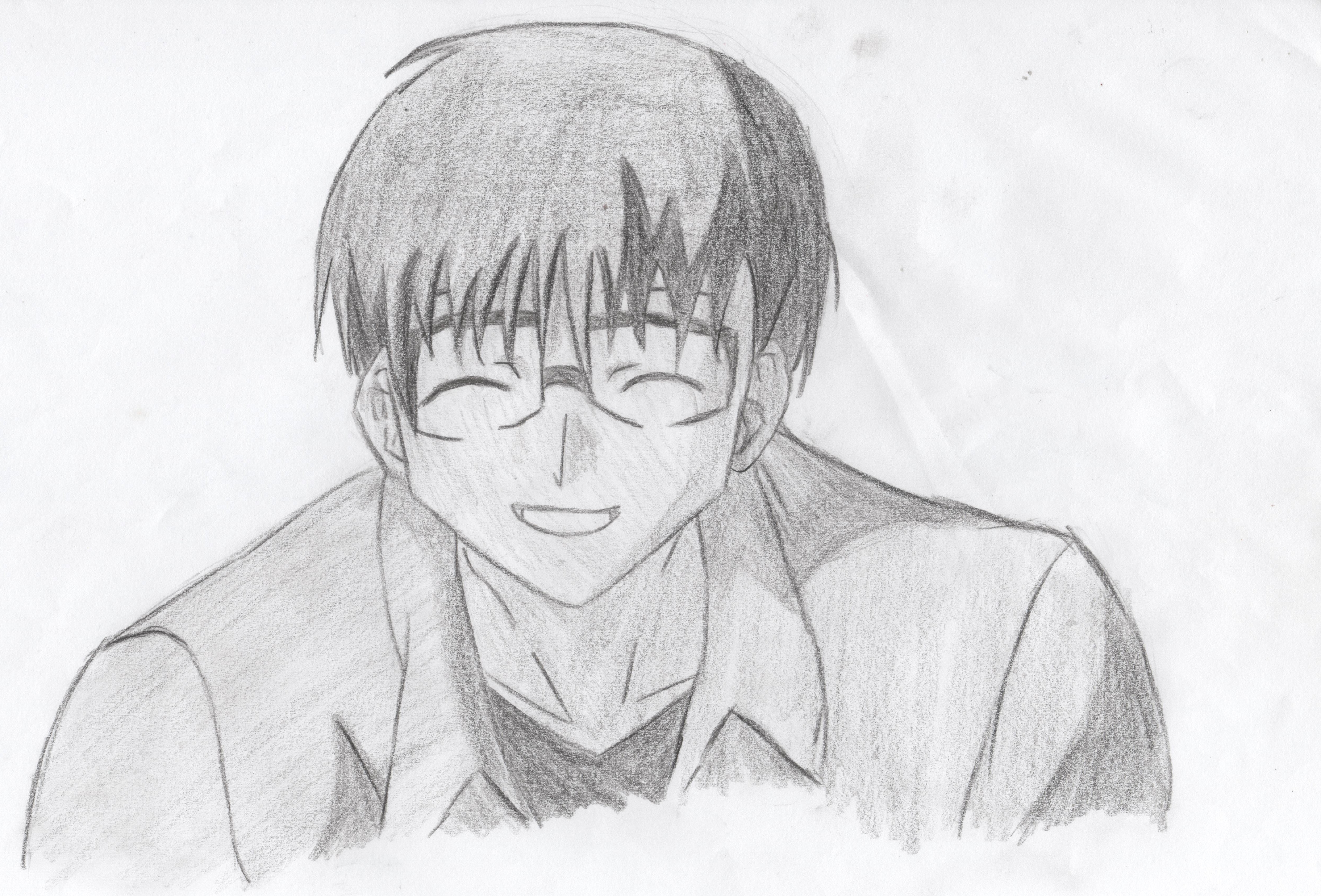 Add Media Report Rss Self Drawn Anime Characters View Original