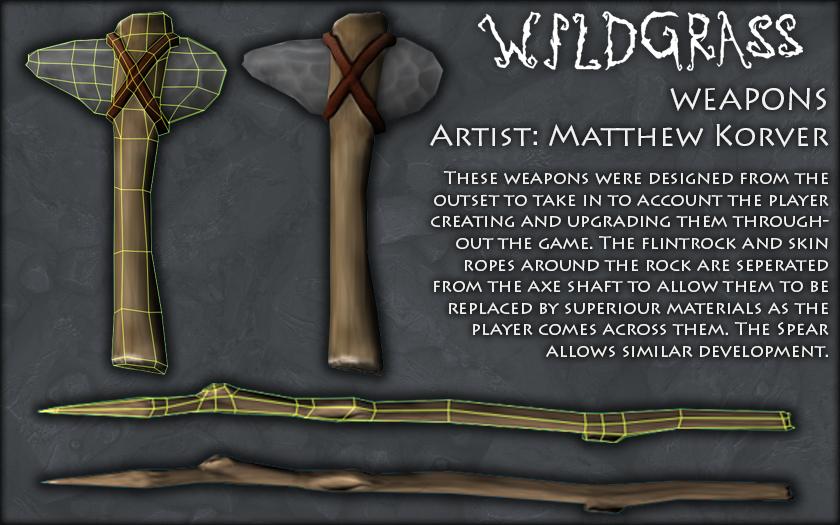 Caveman- Weapons