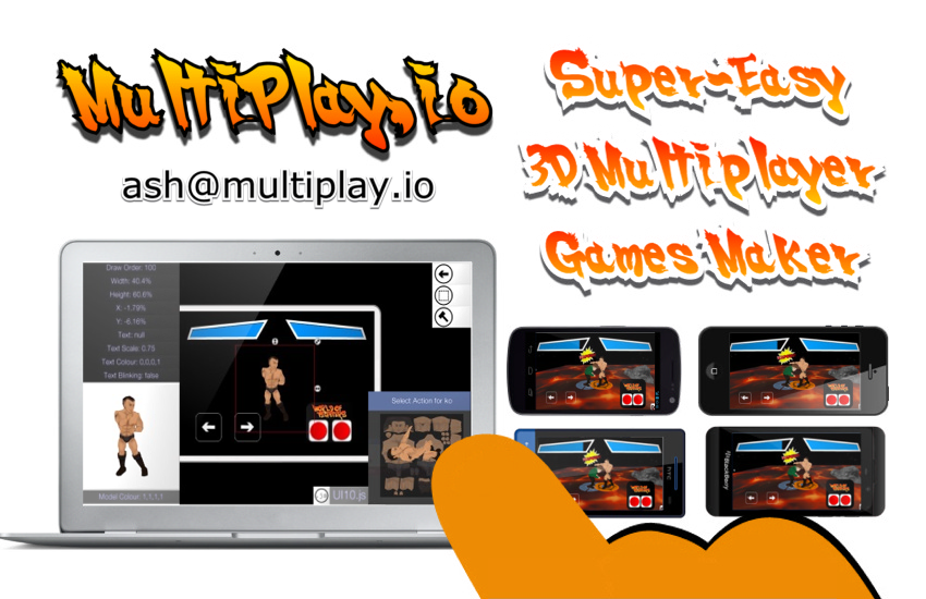 Super-easy 3d multiplayer games maker image - Playir - Indie DB