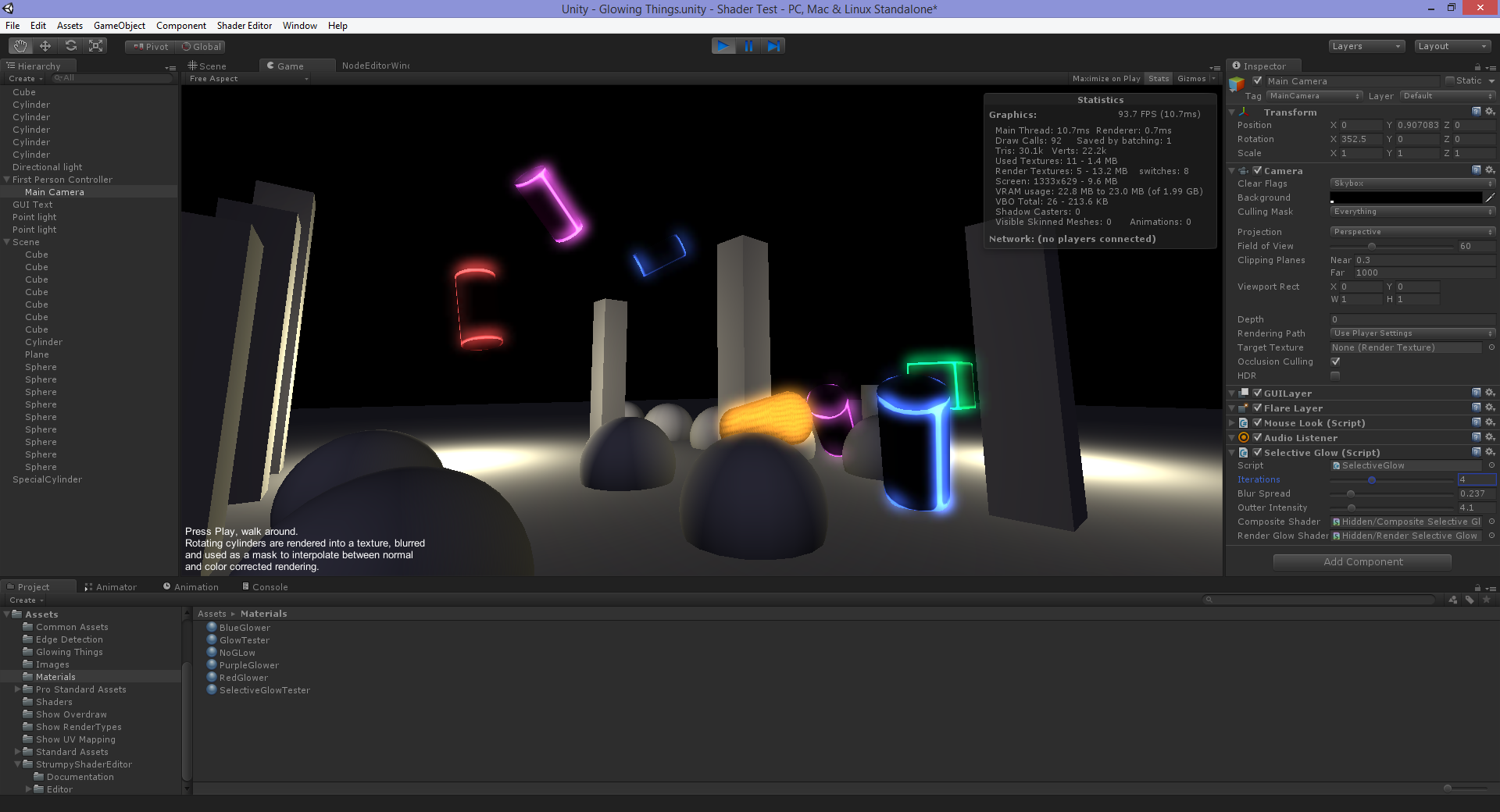 Selective Glow for Unity 3D image - Heathen Engineering - Indie DB