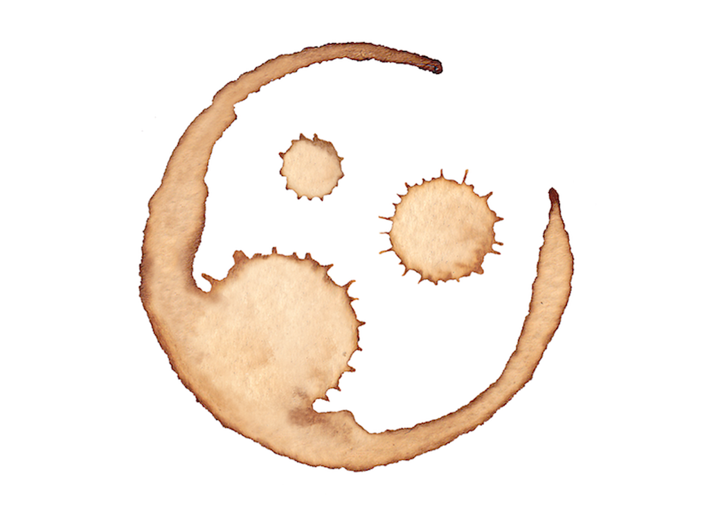 Coffee Stain Clipart