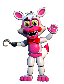 Adventure fixed mangle full body 3 image - Funtime Foxy Fan