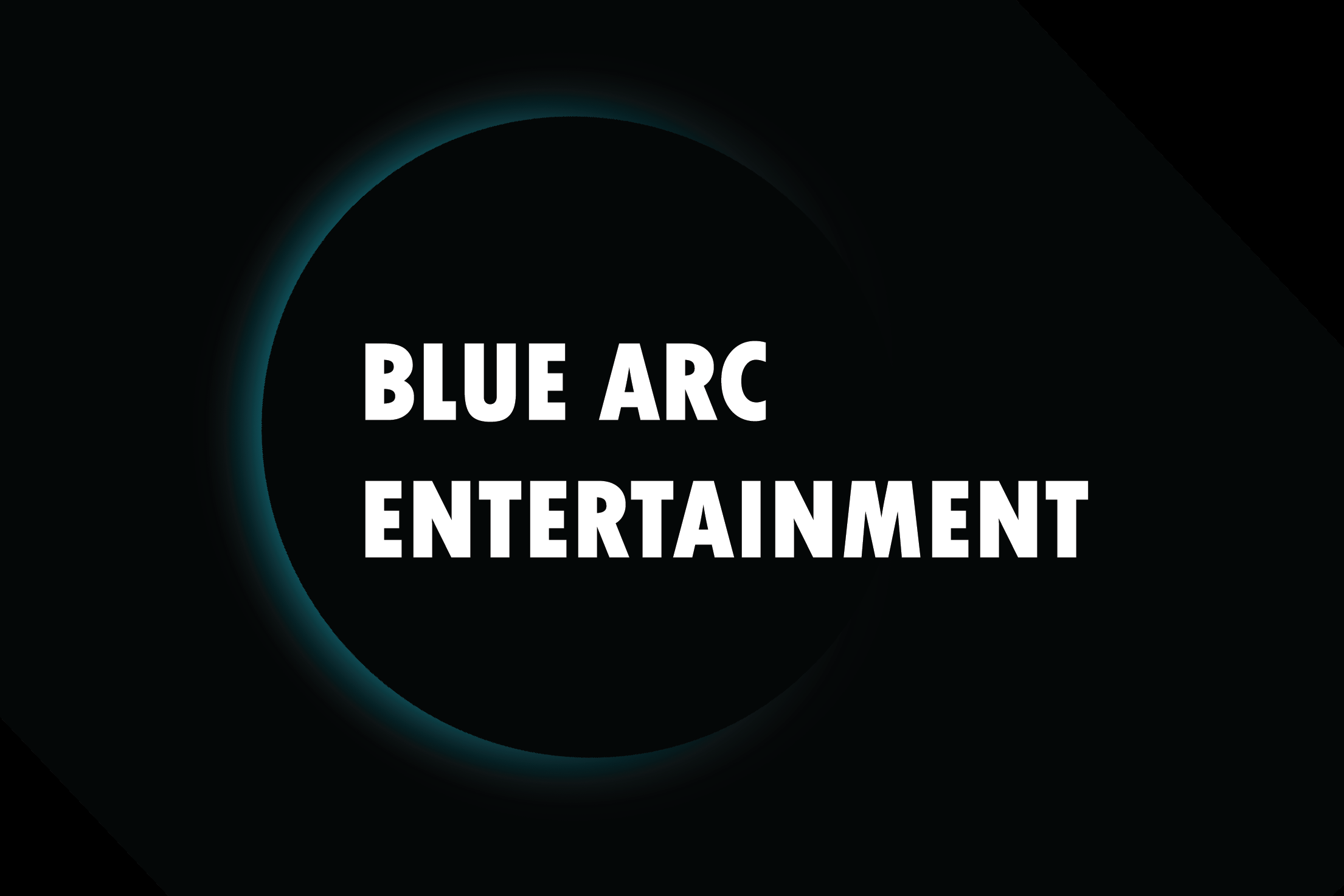 blue arc design