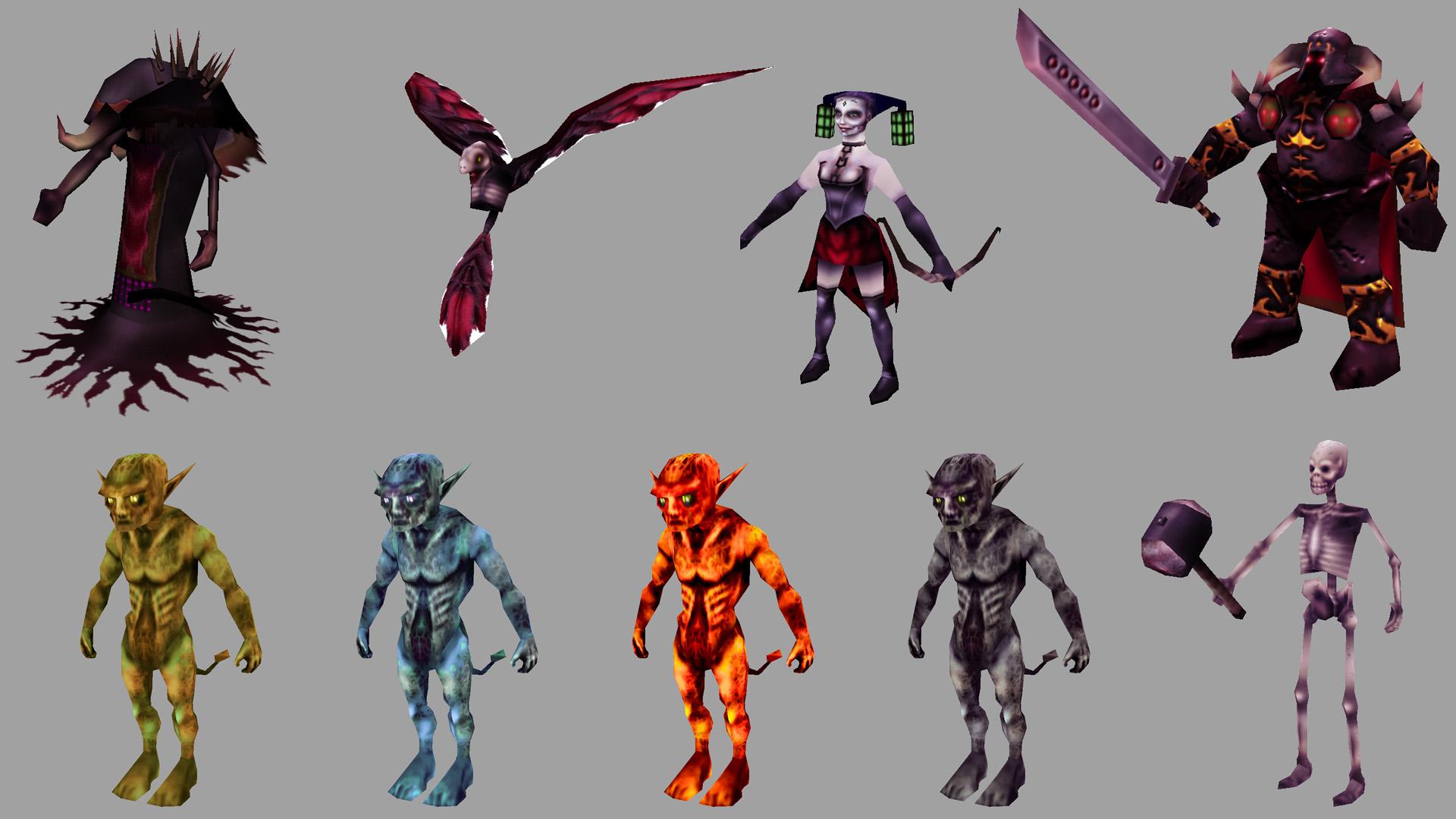 Character (model/prop) sheet image - Unity Games - VRDB