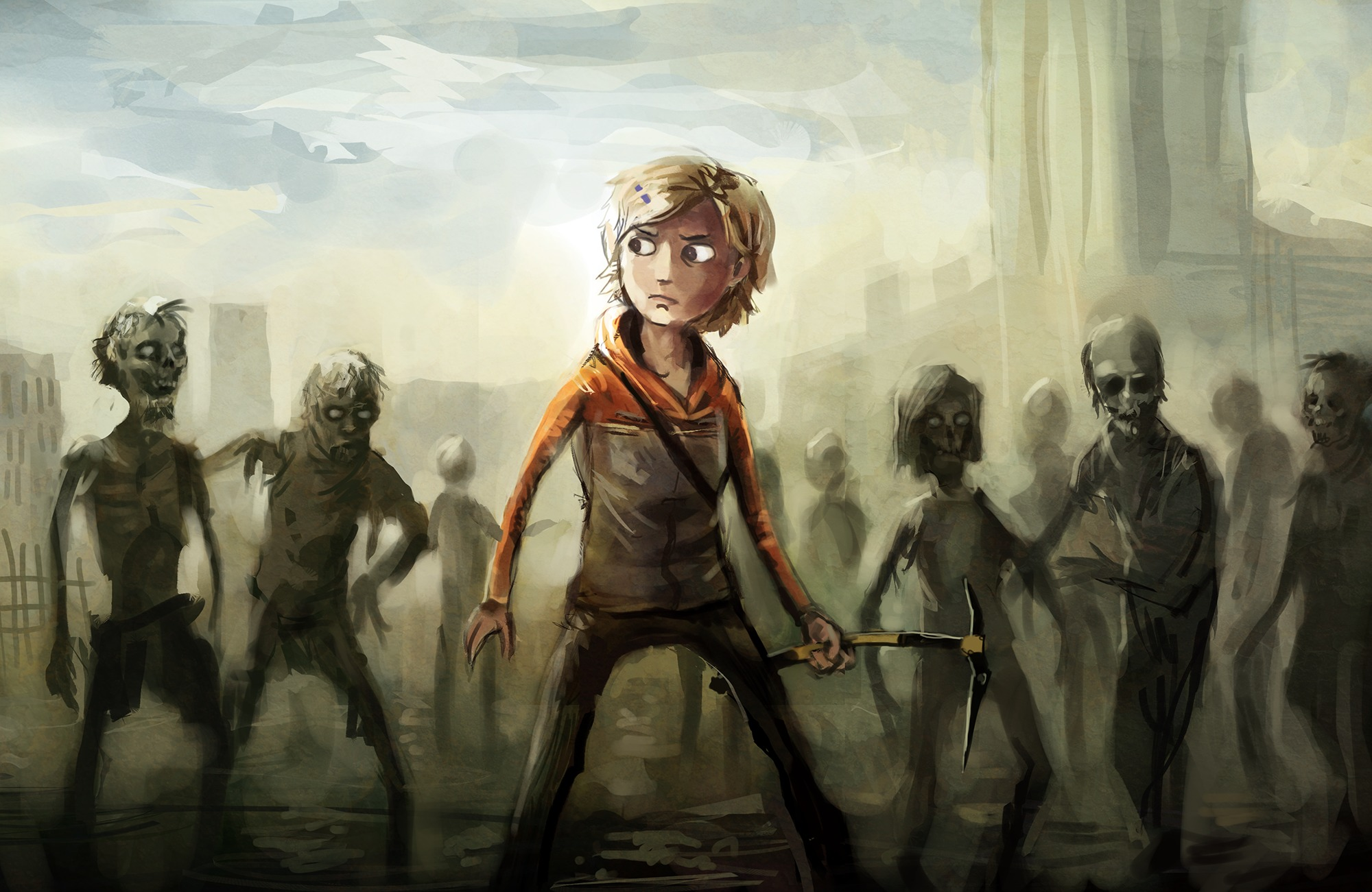 the walking dead / wallpaper - molly image - indie db