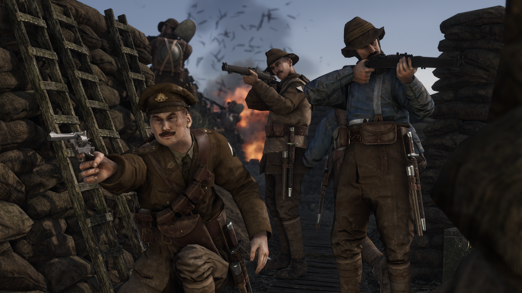 VRD ANZACTrenchRaid