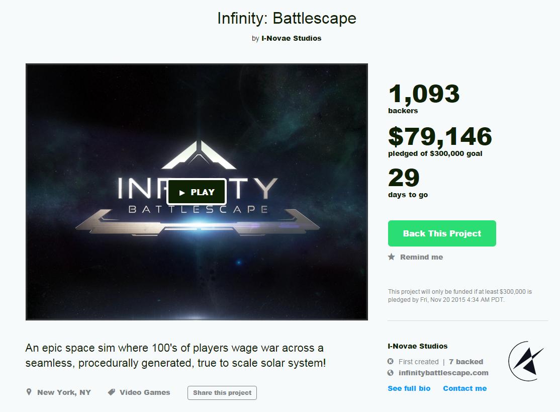 KickstarterStatus 1stDay