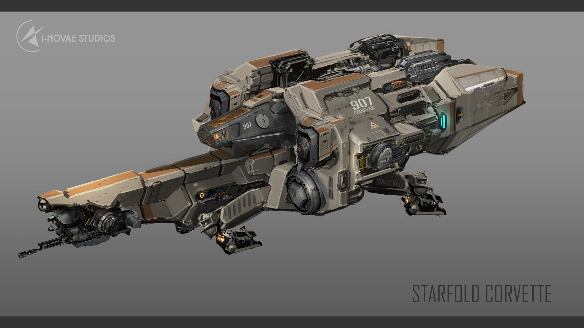 Starfold Corvette
