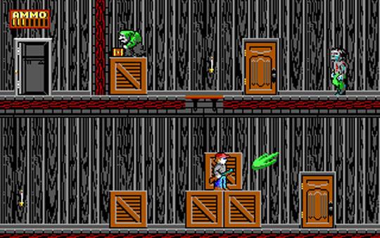 Green Slime attacks!