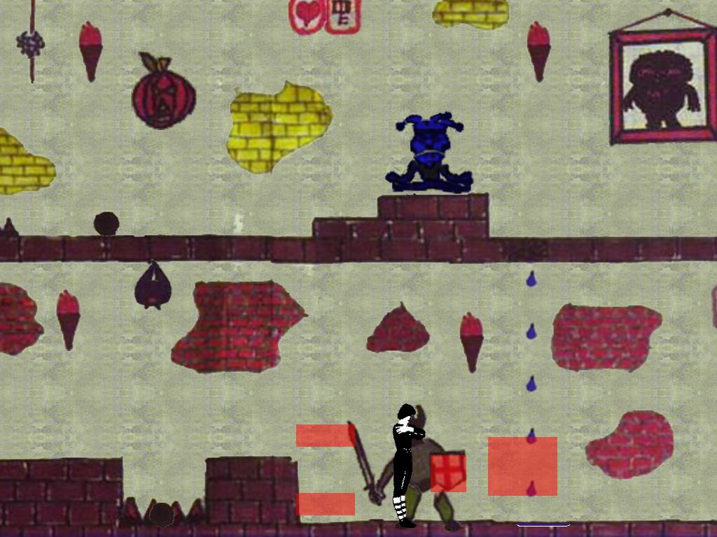 The Knight's attack zones