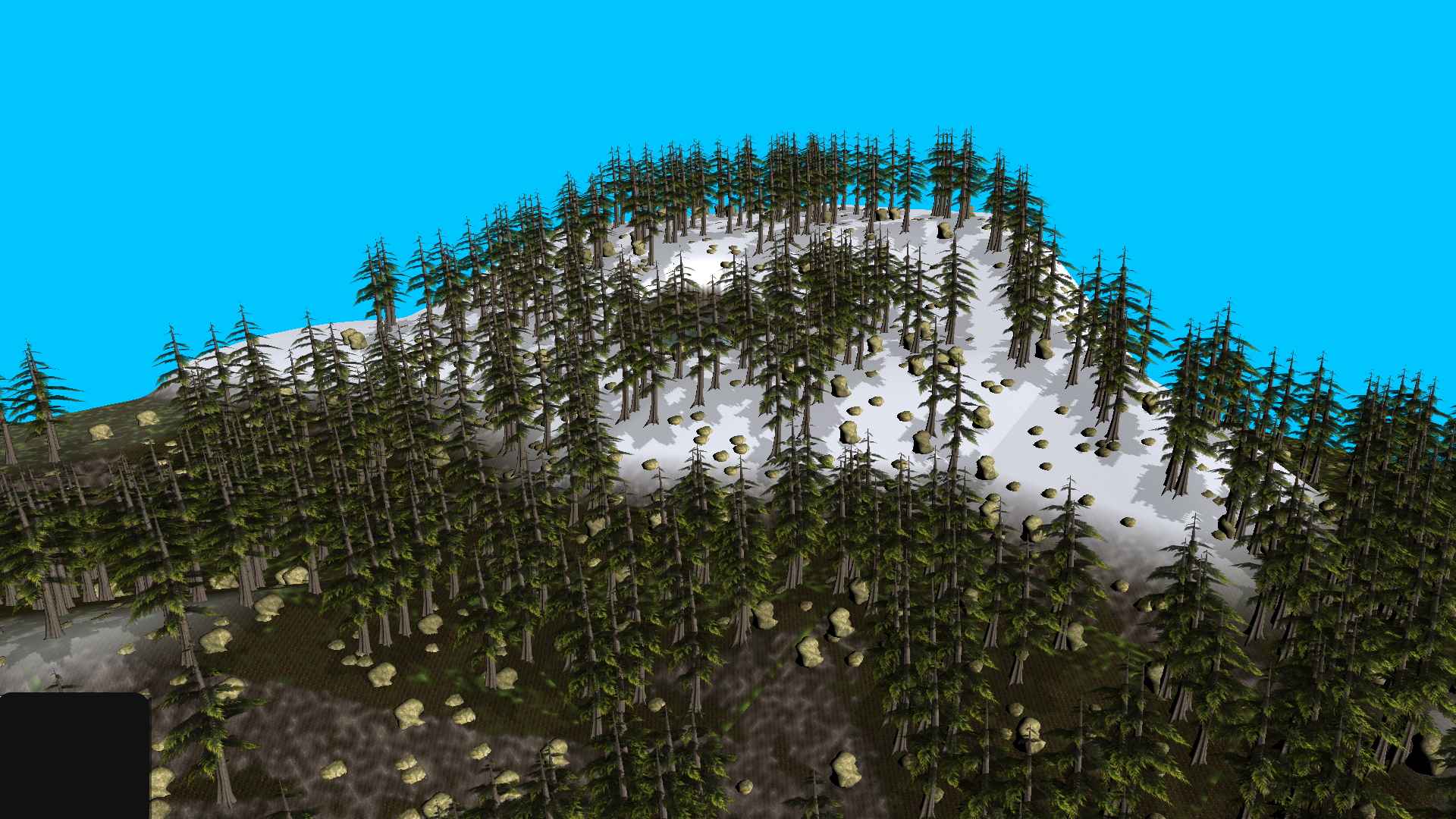 Snowy Mountain with High Peak!