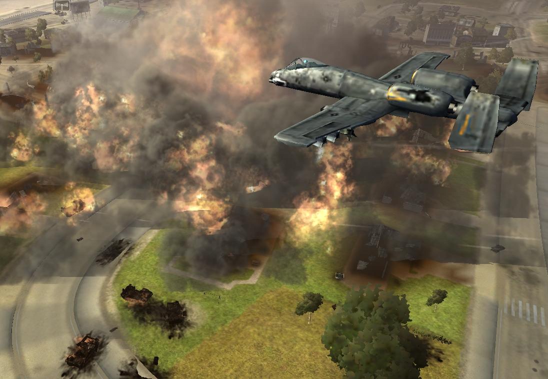 A-10 Napalm Strike image - PlaidBaron - Indie DB