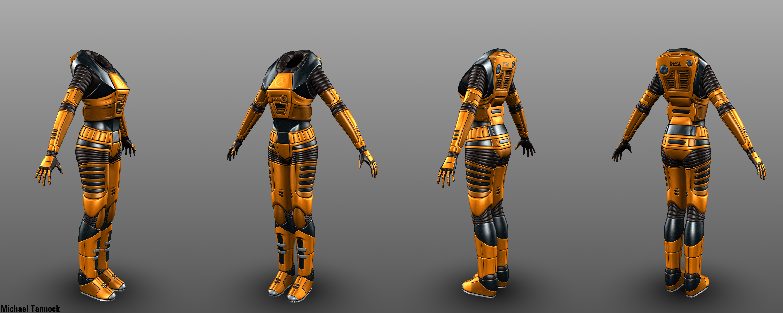 Mark IV H.E.V. Suit (Female) i...