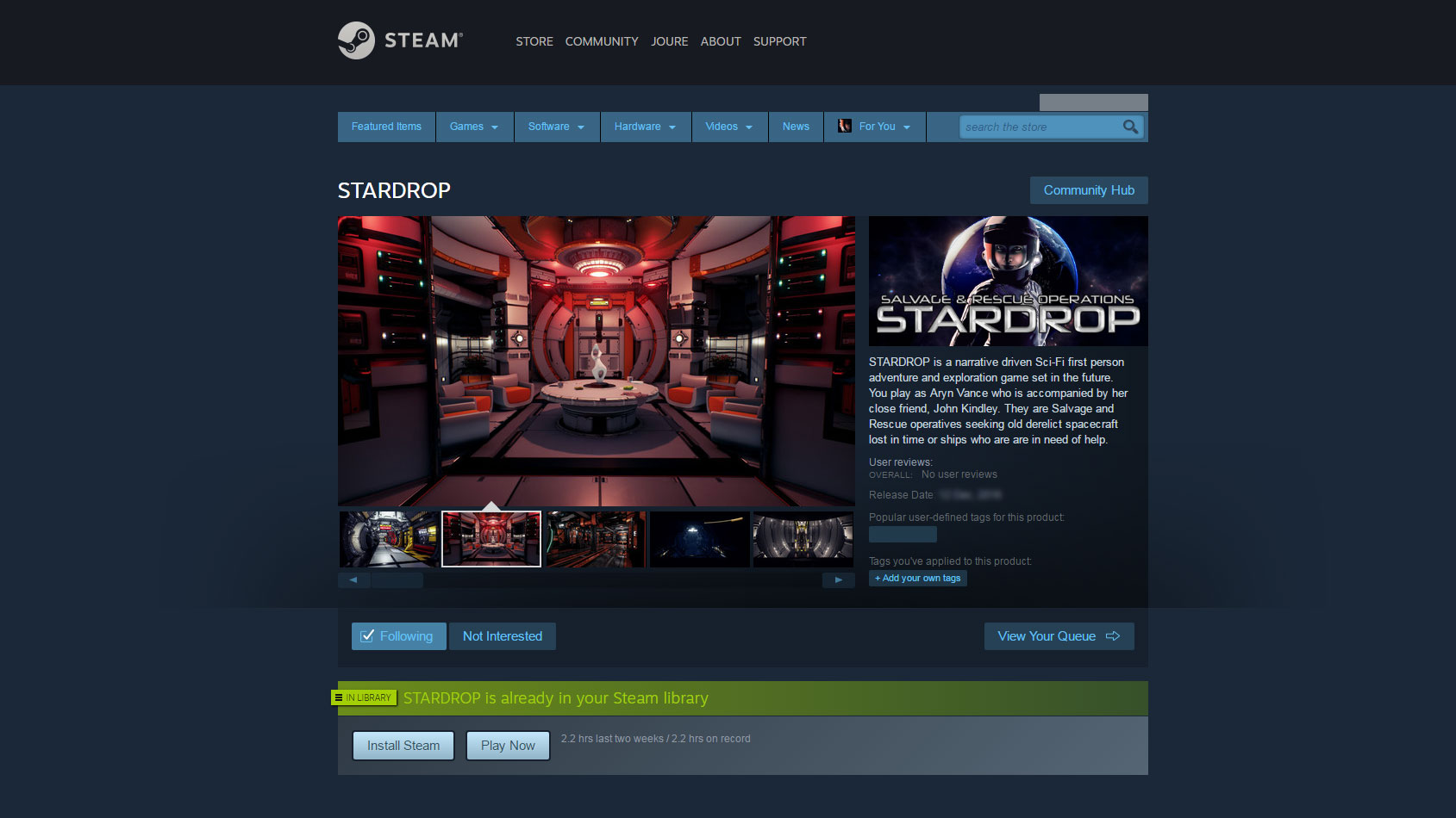 STARDROP On Steam