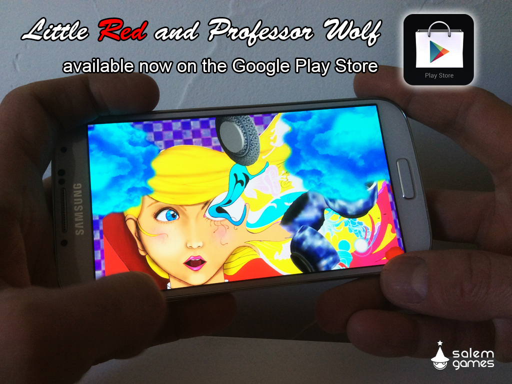 google play available
