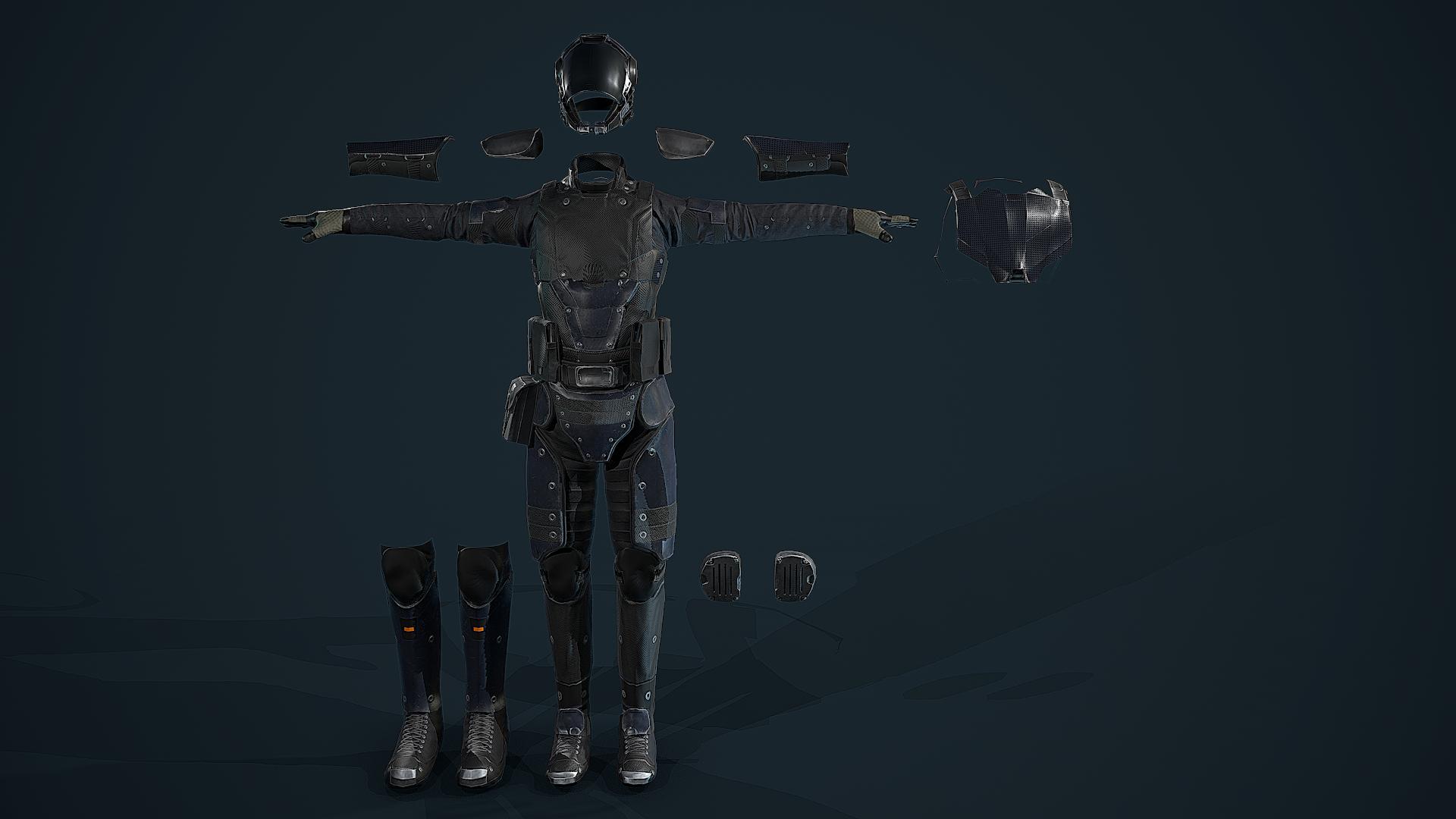 modular armor