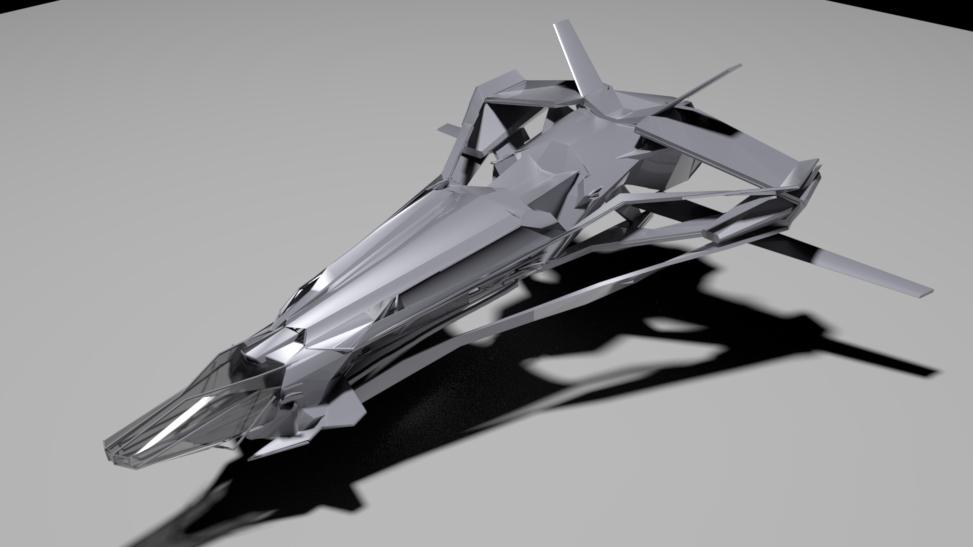 Defender V concept model