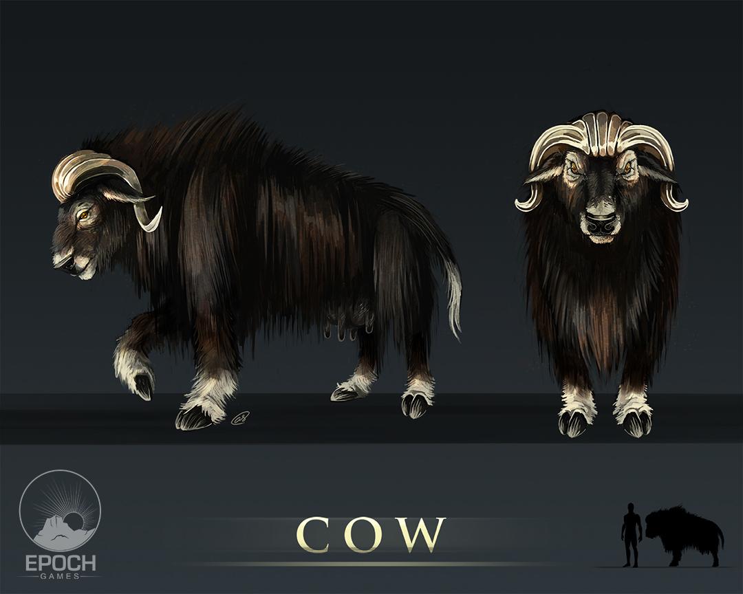 Northern Cow by Amanda Starlein