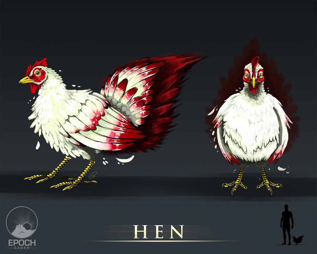 Hen by Amanda Starlein