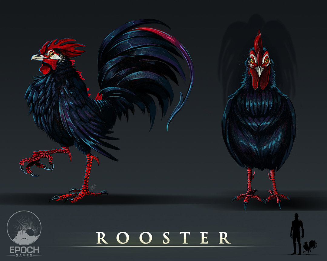 Rooster by Amanda Starlein