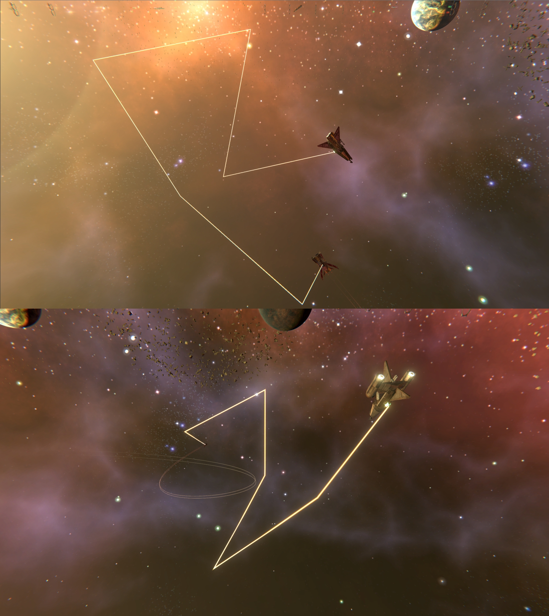 SpaceTimeBendingLaser