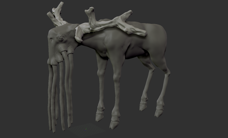 Space Deer Iteration 1