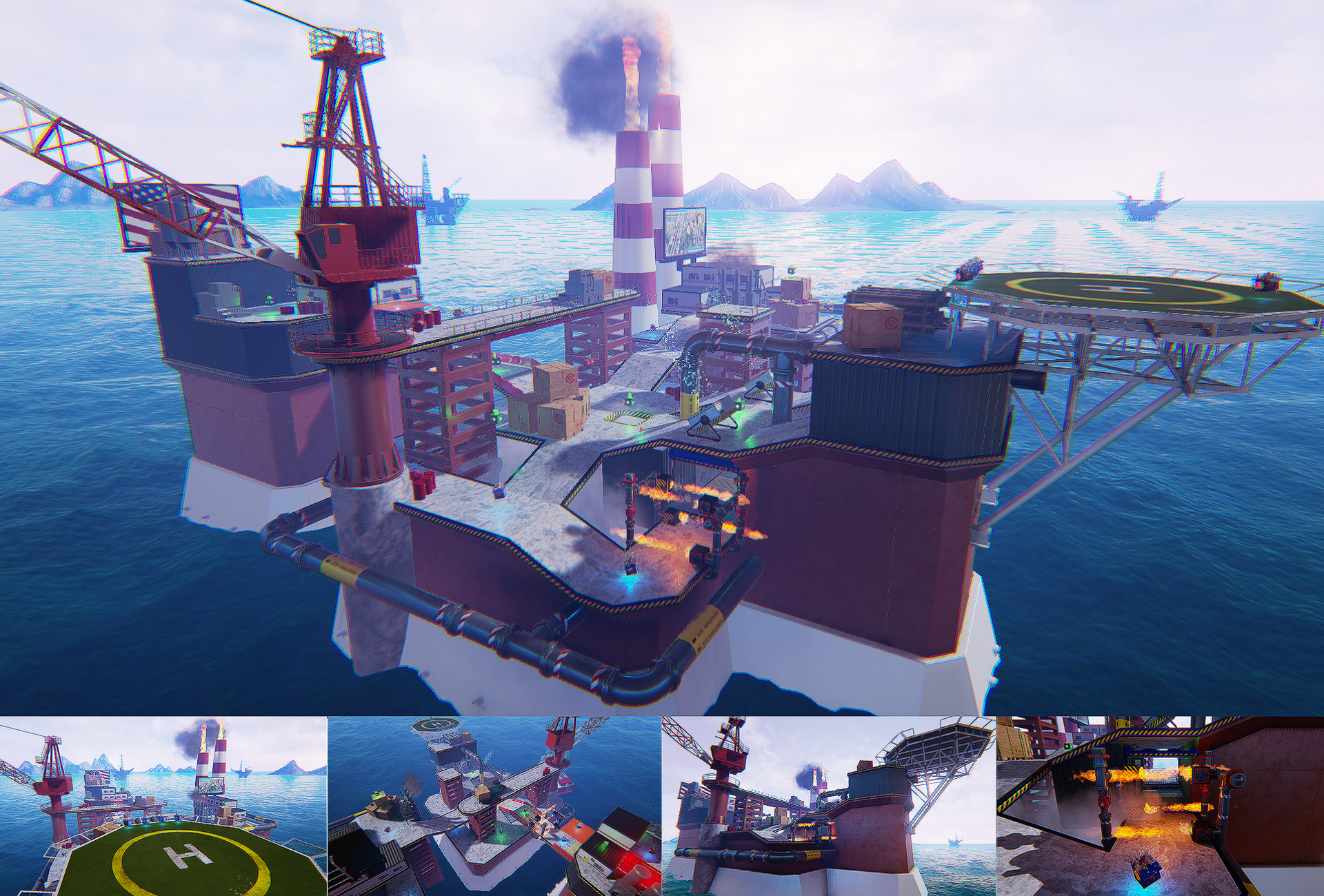 IndustryOil TileSetMapConstructi