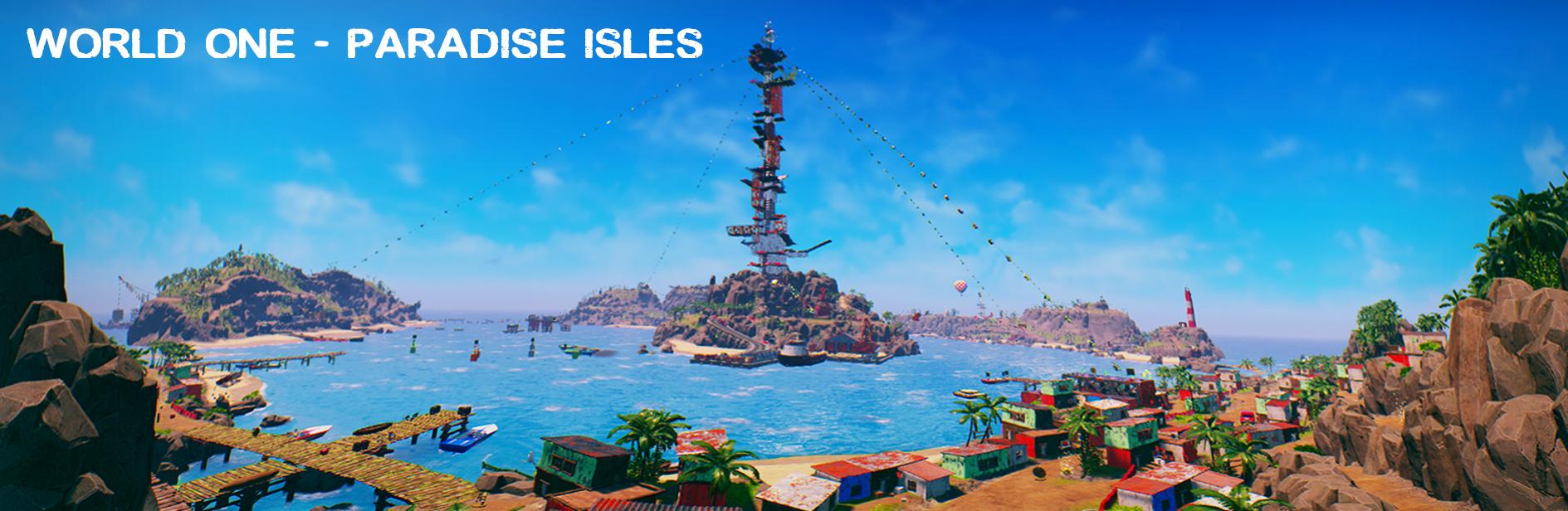 Panorama Shot Paradise Isles