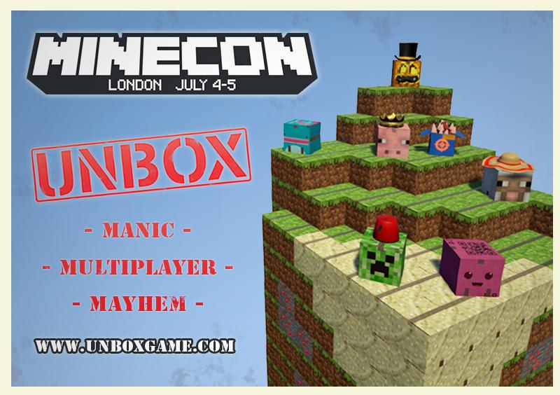 Unbox Minecon